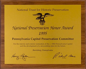 National Preservation Honor Award presented by the National Trust for Historic Preservation, 1995