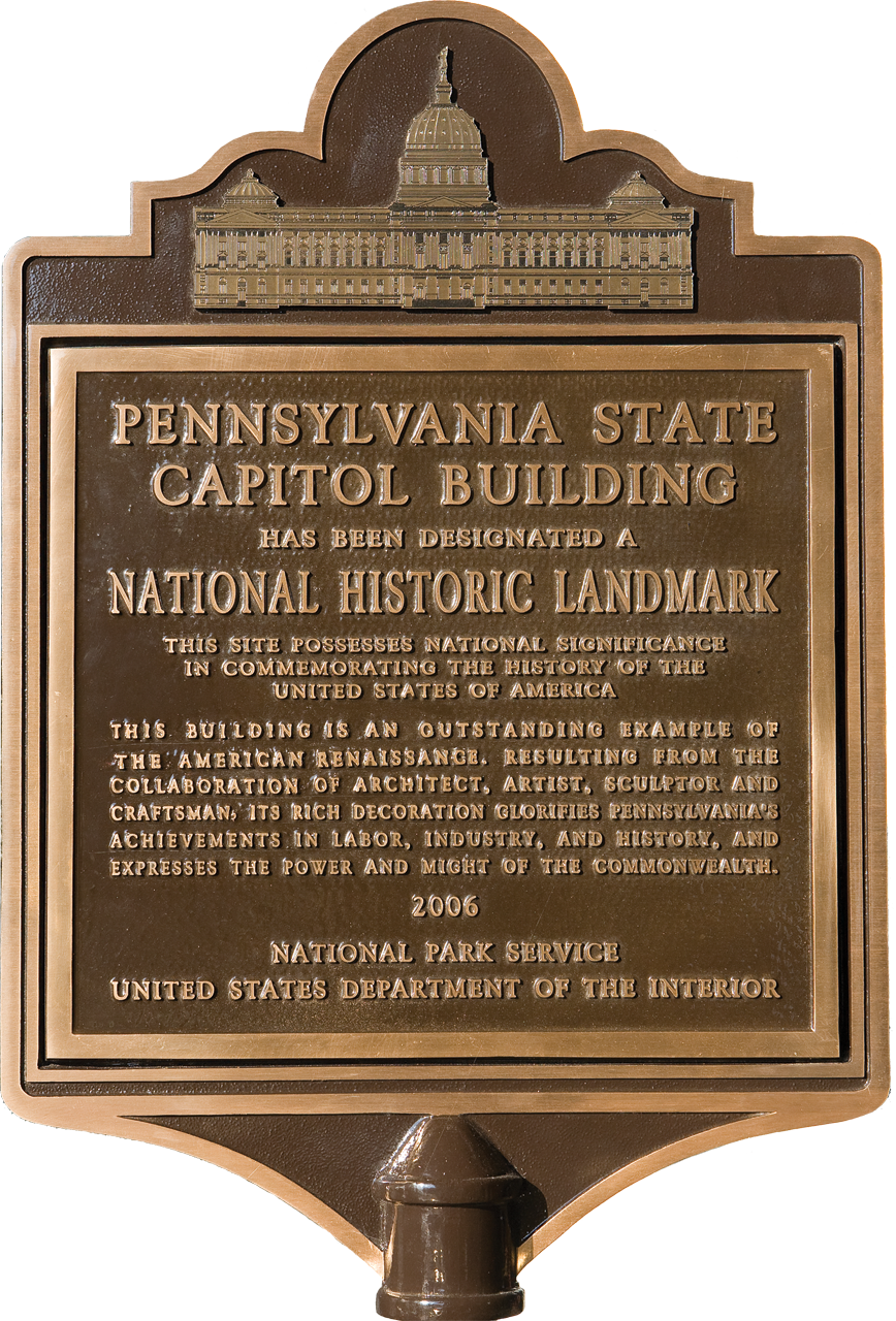National Historic Landmark, Designated by the U.S. Department of the Interior, National Park Service, December 2006