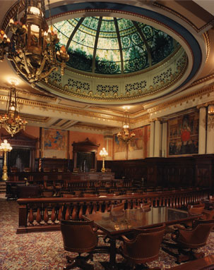 SUPREME & SUPERIOR COURT CHAMBER DOME