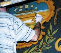 CONSERVATION OF MURAL