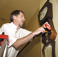 INSTALLING CONSERVED CLOCK