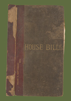 HOUSE BILLS, 1899 SESSION