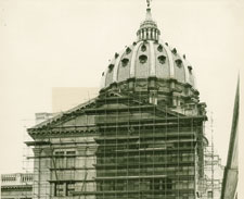 CAPITOL EXTERIOR CLEANING AND REPOINTING PROJECT 1936