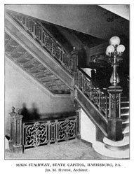 SWEET'S CATALOGUE PAGE SHOWING CAPITOL MAIN STAIRWAY